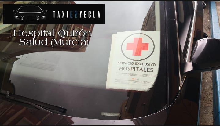En Taxi en Yecla Jesús, trabajamos por tu salud.